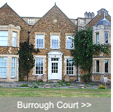 Pictures from the project at Burrough Court